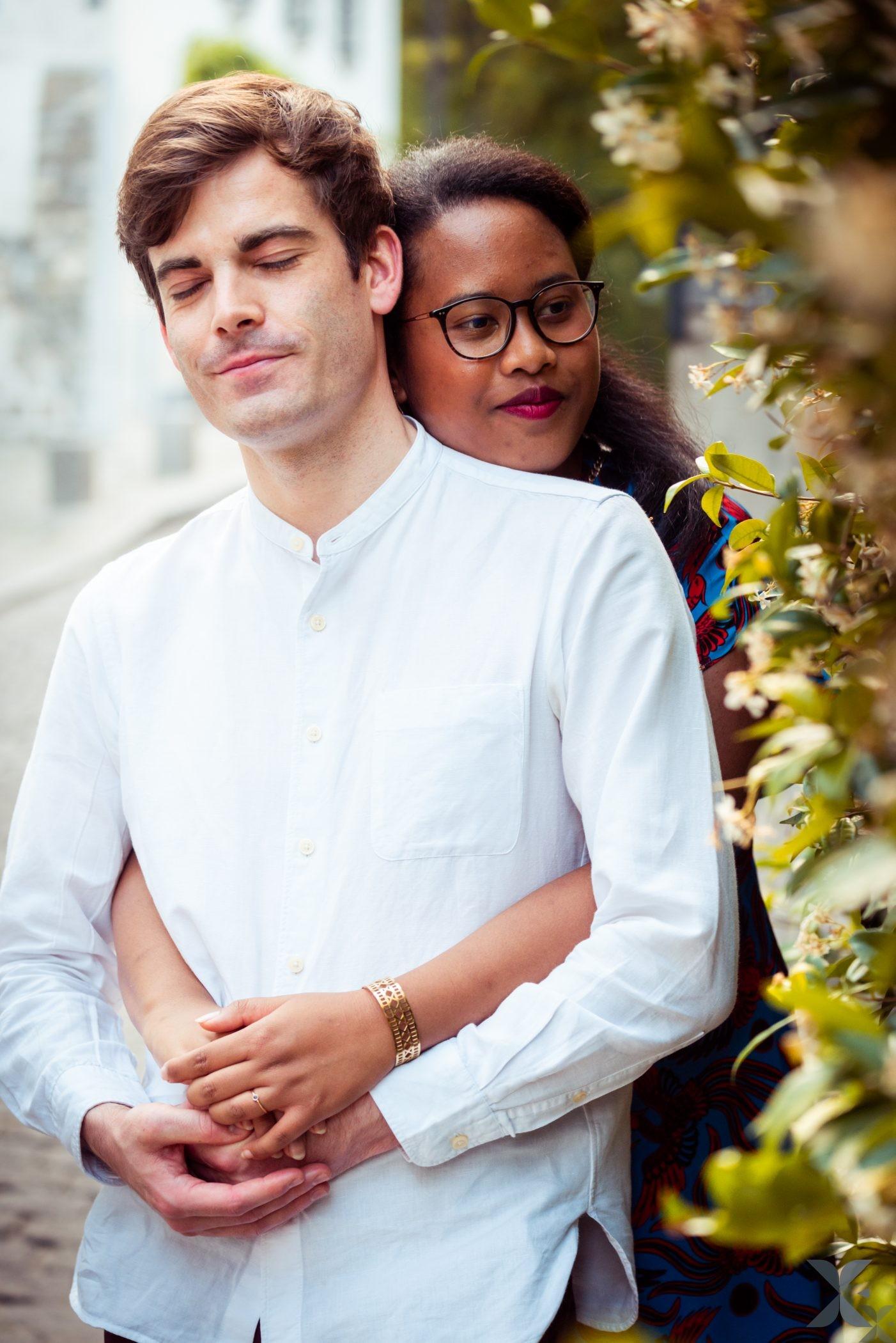 Photographe Chelles Ile De France Et Paris Photo Couple Montmartre 13