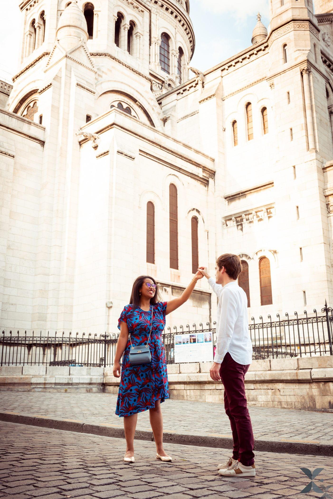Photographe Chelles Ile De France Et Paris Photo Couple Montmartre 6