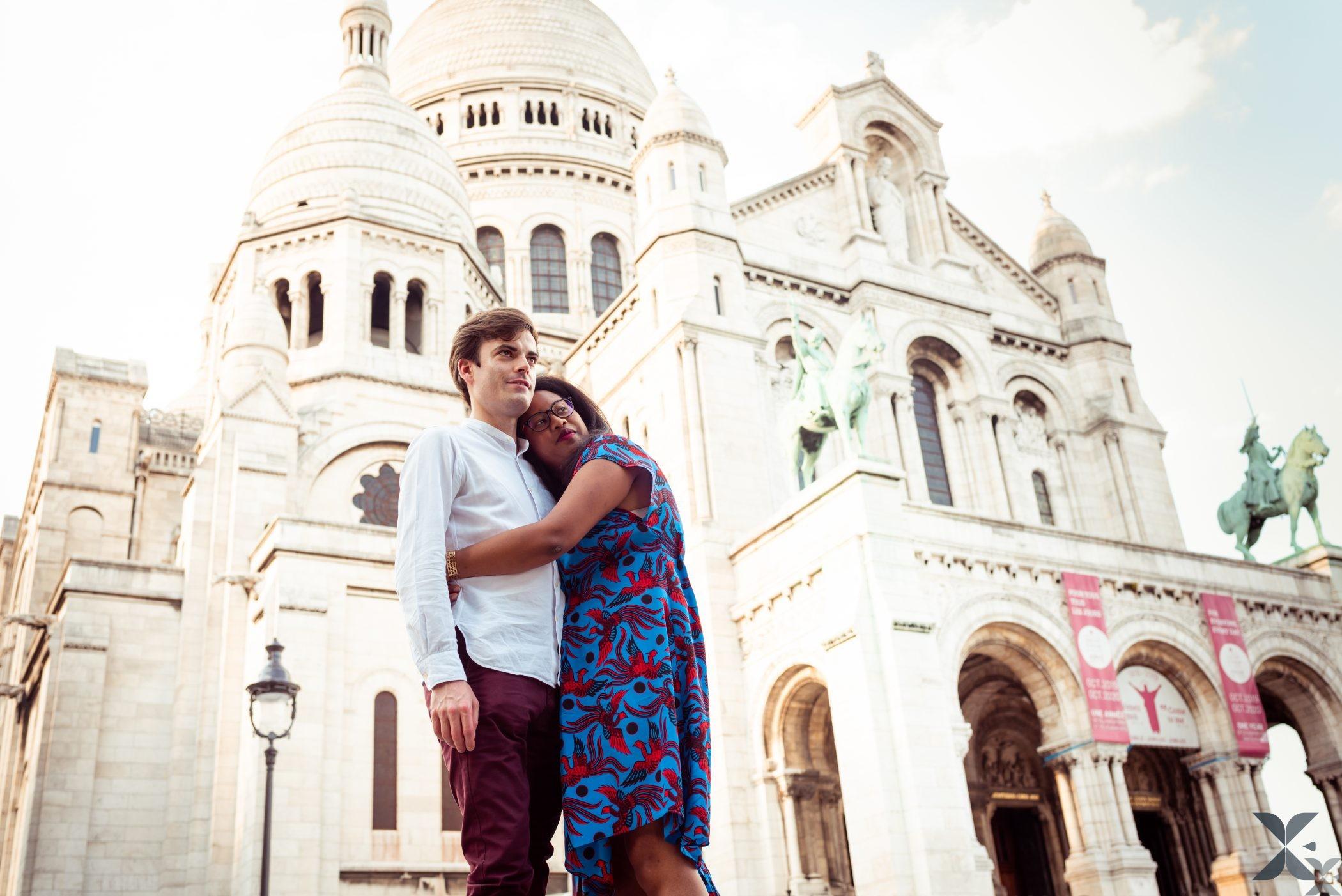 Photographe Chelles Ile De France Et Paris Photo Couple Montmartre 7