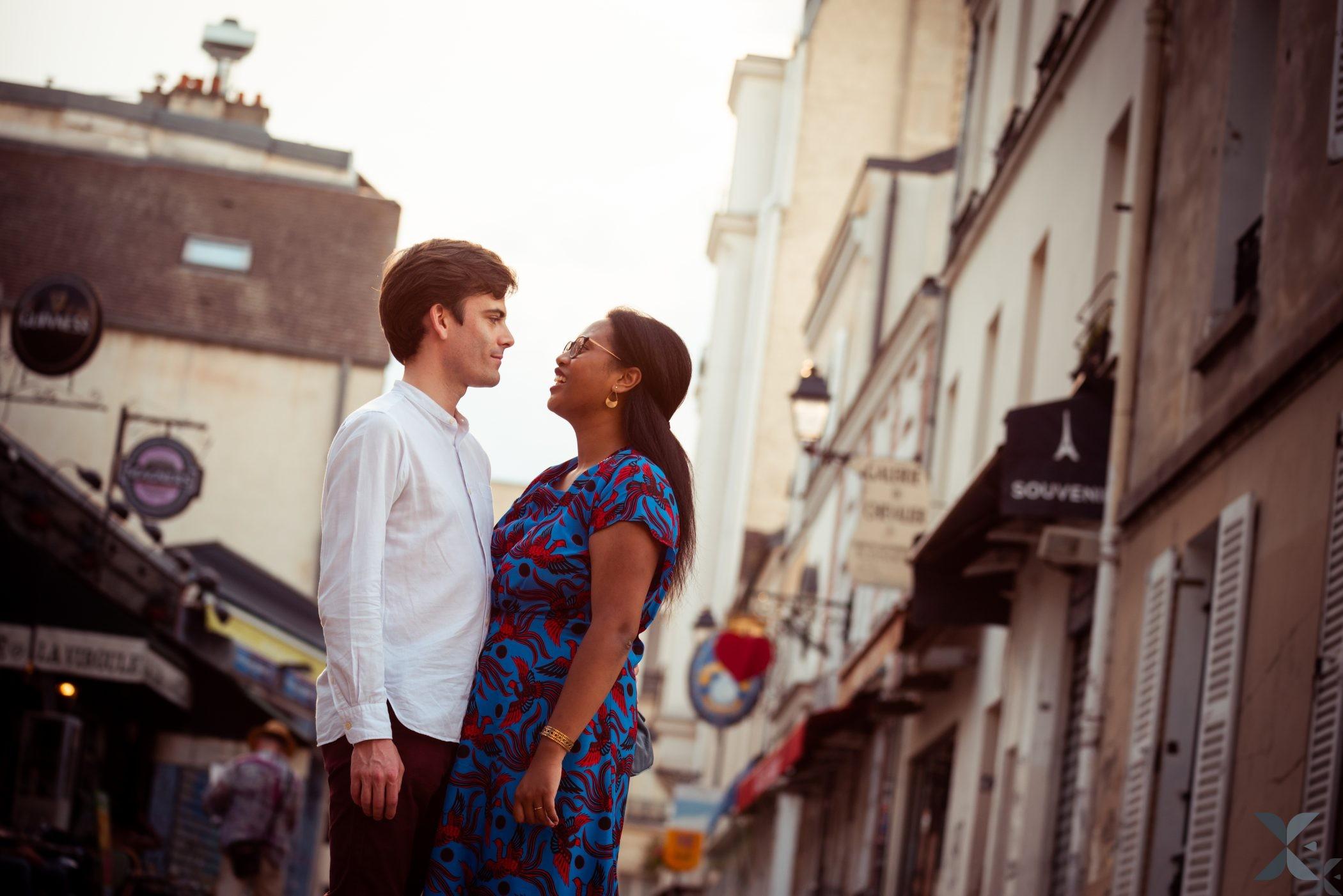 Photographe Chelles Ile De France Et Paris Photo Couple Montmartre 9