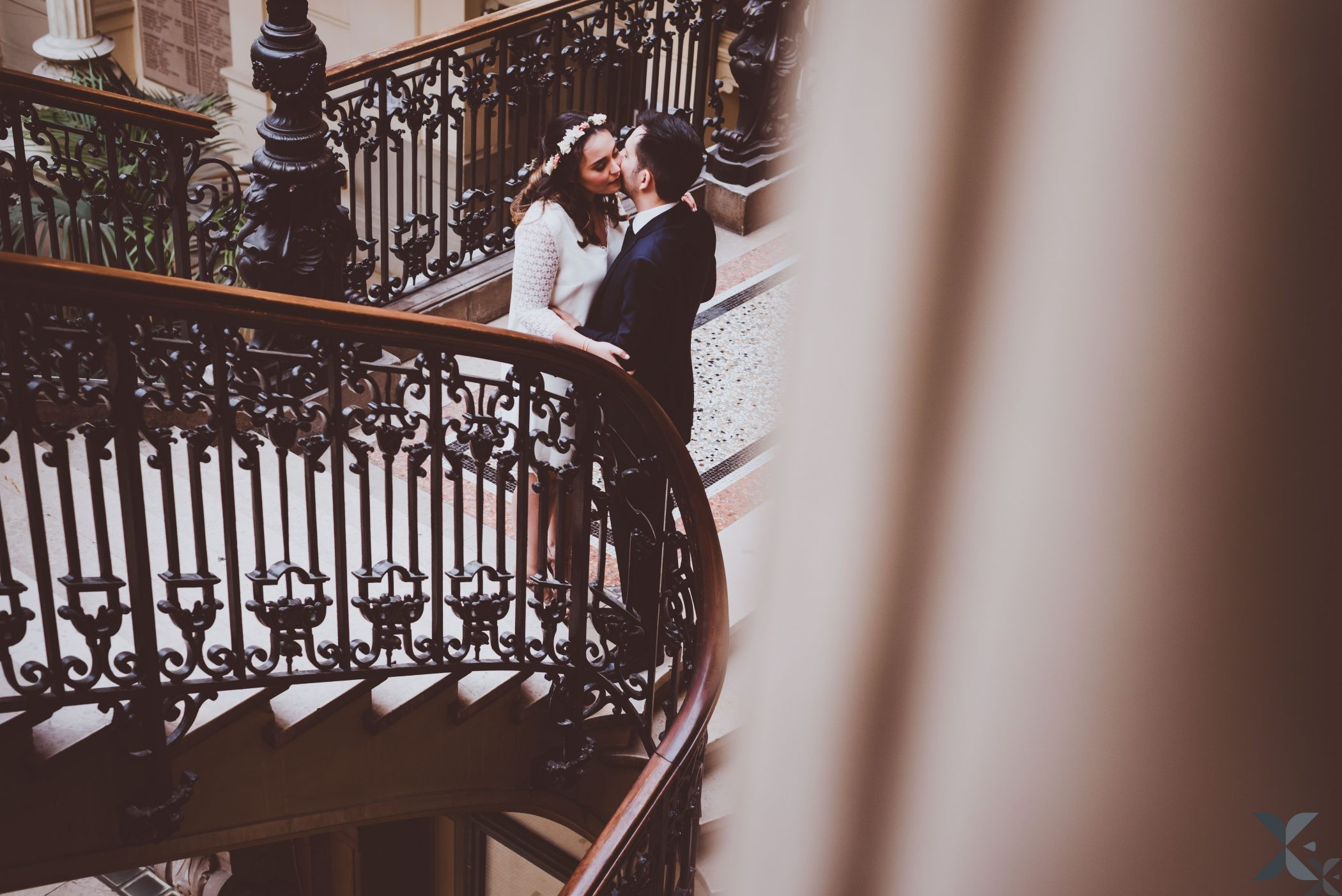couple de mariés, photographe de mariage Chelles